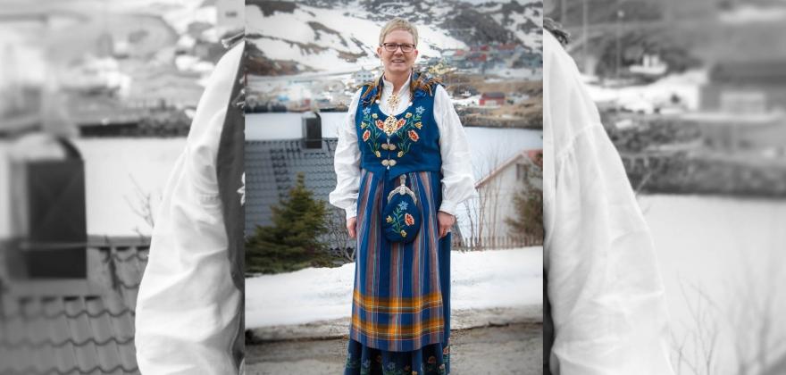 Mange brukte bunad i Honningsvåg – se bildene