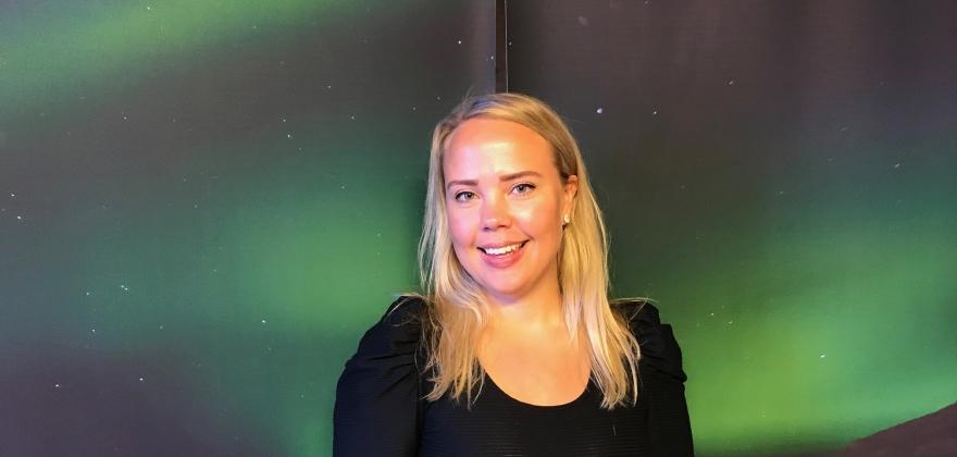 Fremtidens leder, Marte Gabrielsen i Nordkapp