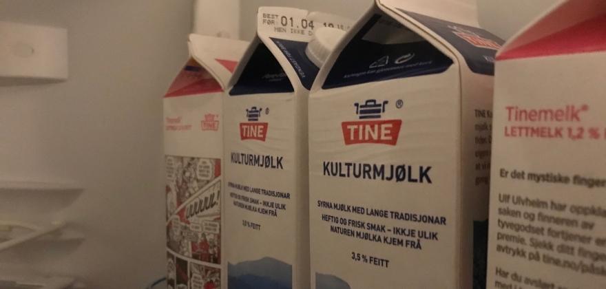 Det blir melk på butikkene i Honningsvåg påskeaften