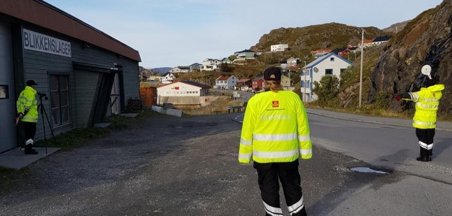 Gjennomførte kontroll i Honningsvåg og Lakselv