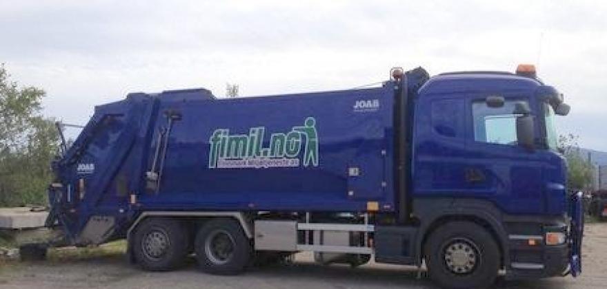 425 kilo avfall per innbygger