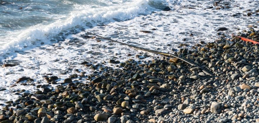Har skiftet 25 kilometer kystfiber