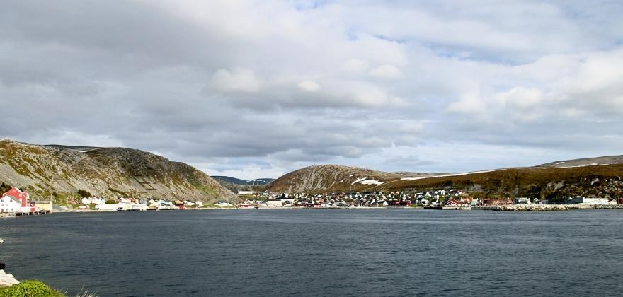 Hele Kjøllefjord er fri for vann