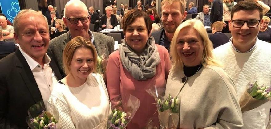 Christine Bertheussen Killie topper listen for Troms og Finnmark Høyre