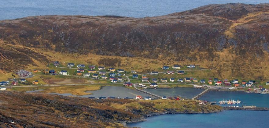 Ramlet i havet utenfor Skarsvåg