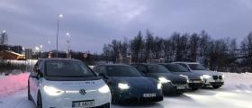 Verdens nordligste elbiltest startet i dag