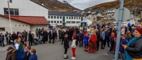 Se 17. mai-bildene fra Honningsvåg