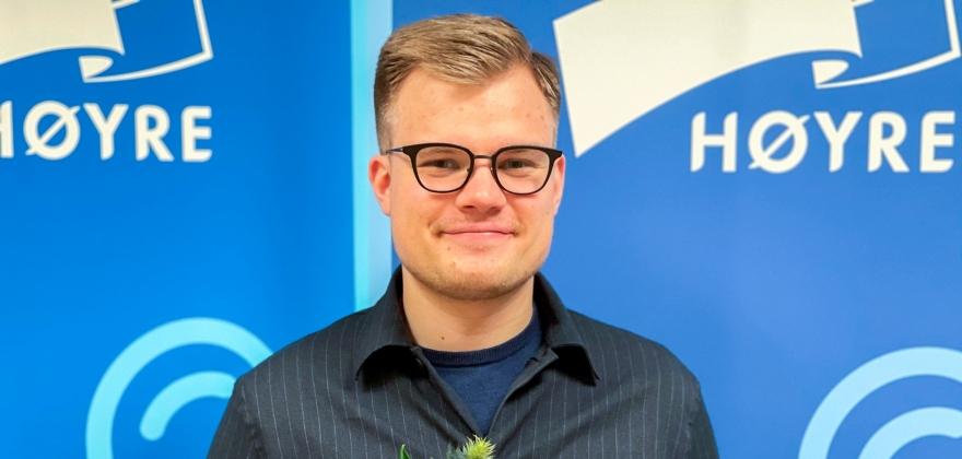 Vetle Langedahl valgt som Høyres toppkandidat i Finnmark