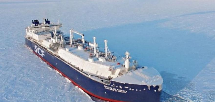 Russisk skip satte rekord fra Hammerfest til Korea