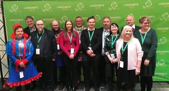 Finnmarkinger på Senterpartiets landsmøte