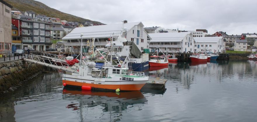Nordkapp er landsdelens nest største fiskerikommune