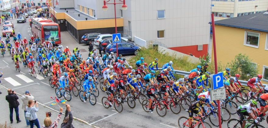 Arctic race of Norway - Start Honnningsvåg