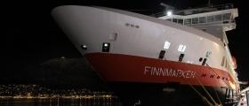 Finnmarken snudde i Kjøllefjord