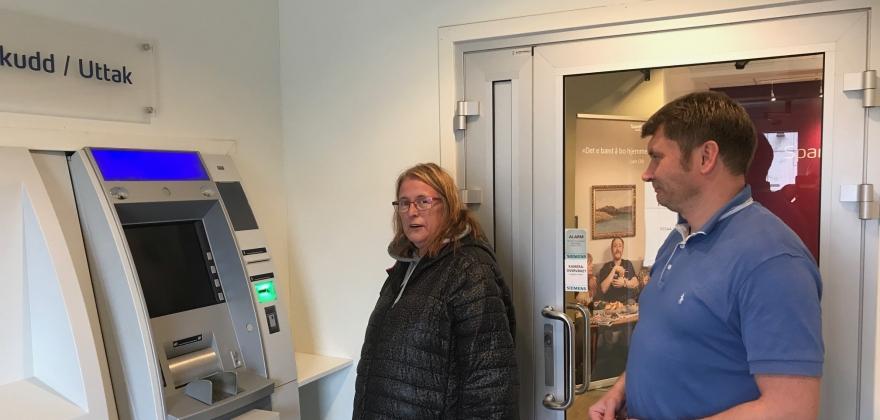 Var feil på minibanken i Honningsvåg i ti dager