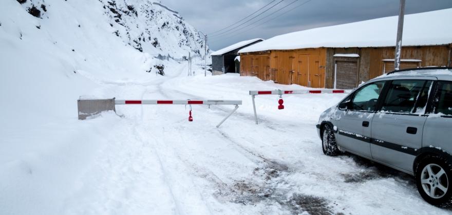 Veiene åpner ikke idag