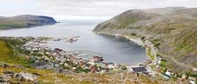 Båt tok fyr utenfor Kjøllefjord