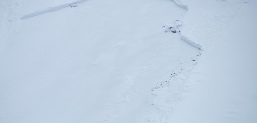 Stor snøskredfare på E69