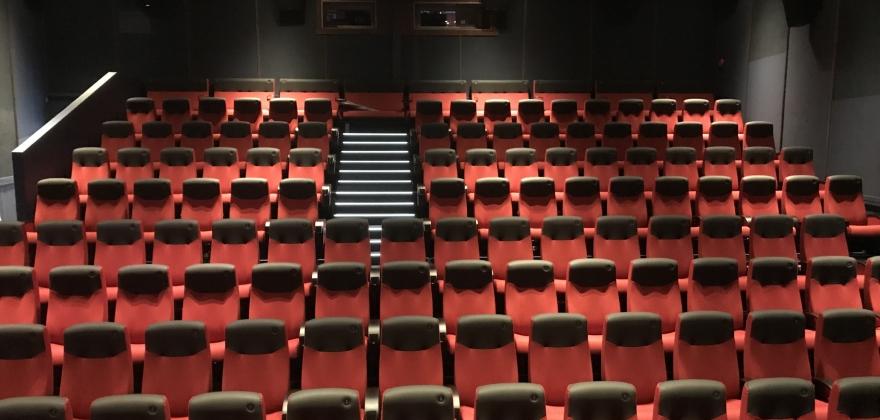 Visste hvor mange sitteplasser det er i kinosalen