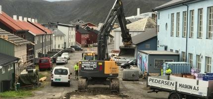 Stenger vannet i Honningsvåg på grunn av lekkasje