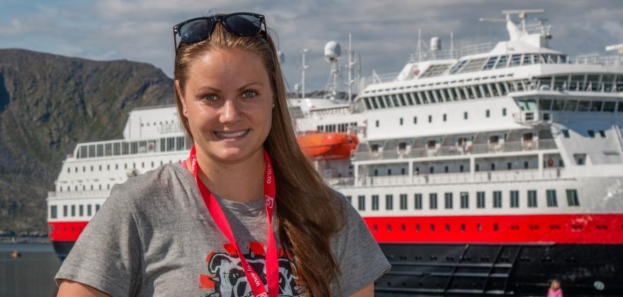 LOs Sommerpatrulje: Tommelen opp, Nordkapp