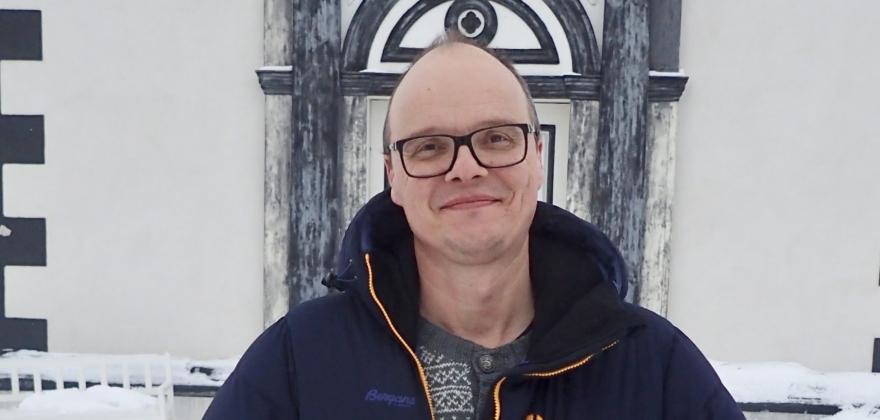 Niels Westphal er ansatt som kirkeverge