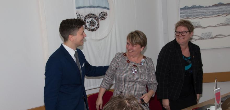 Aina Borch gjenvalgt som ordfører i Porsanger