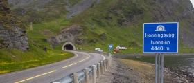 Førerkortbeslag i Honningsvågtunnelen