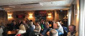 50 personer diskuterte Nordkapp-saken sammen med Klassekampen