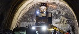 Gjennomslag for nye Skarvbergtunnelen
