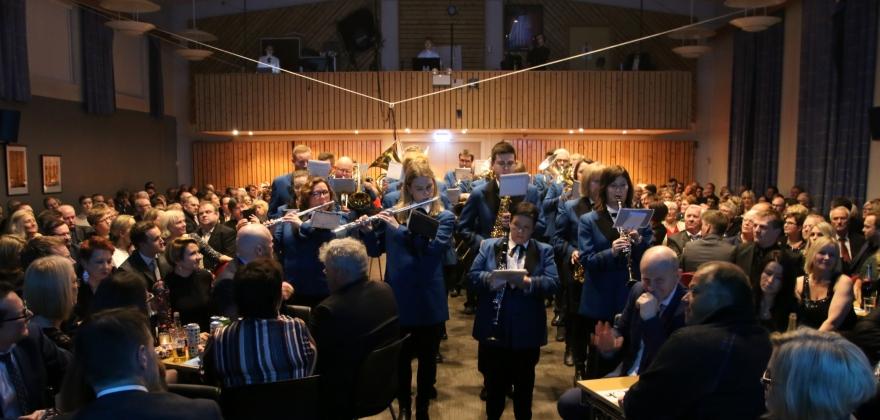 Alt er klart for musikkshow i Honningsvåg