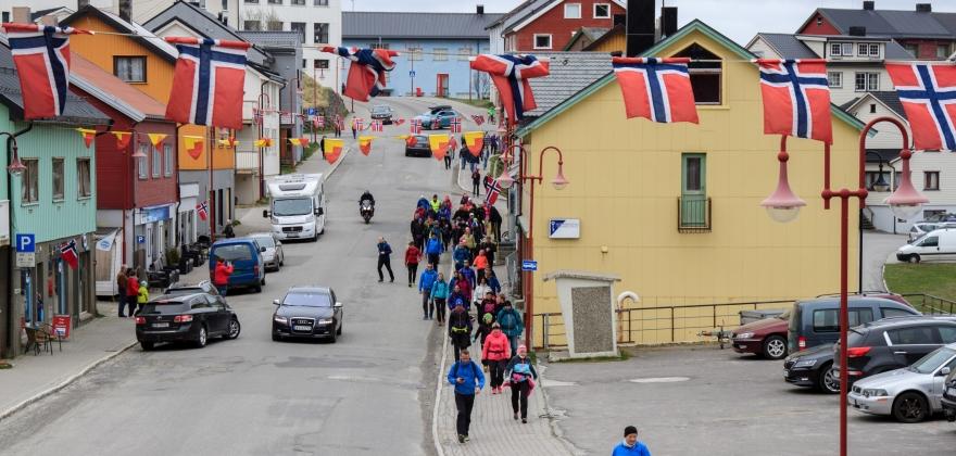Nordkappmarsjen blir arrangert for 43. gang