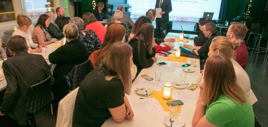 Solid delegasjon fra Nordkapp på årsmøtet i Finnmark Senterparti