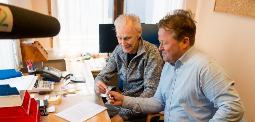 Arne Hjeltnes har overtatt etter Hermann Pettersen