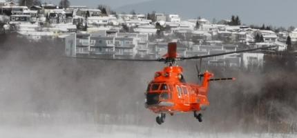 Stort «Korona-helikopter» på plass i Tromsø