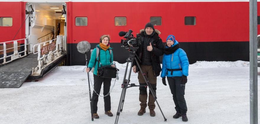 Hurtigruten i tysk fjernsyn