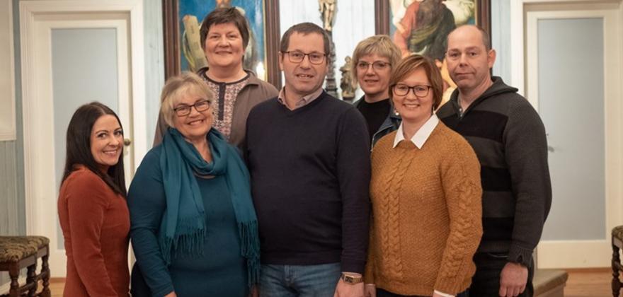 Torgeir Walsøe, ny leder av menighetsrådet