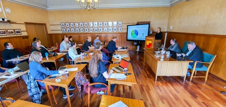 Søker fritak fra forliksrådet i Nordkapp