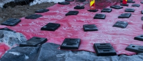 Har utsatt anleggsarbeidet i Nordvågen
