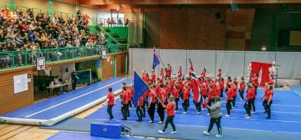 Sommeroppvisning i Honningsvåg – se bildene