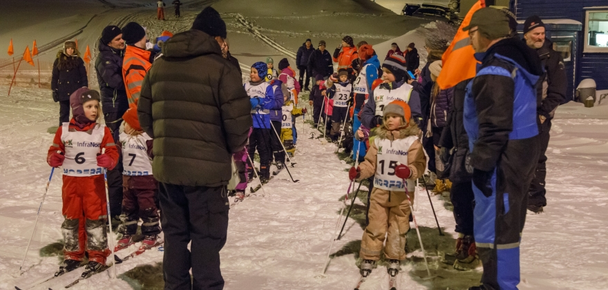 Premieutdeling for skiløperne