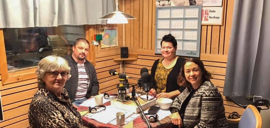 Vinnerne i Radio Nordkapps kveldssending
