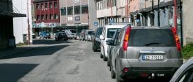 Parkeringsvakten er på jobb
