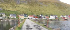 Dårlige kommunale veger i Skarsvåg