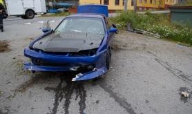 Trafikkulykke i Storbukt