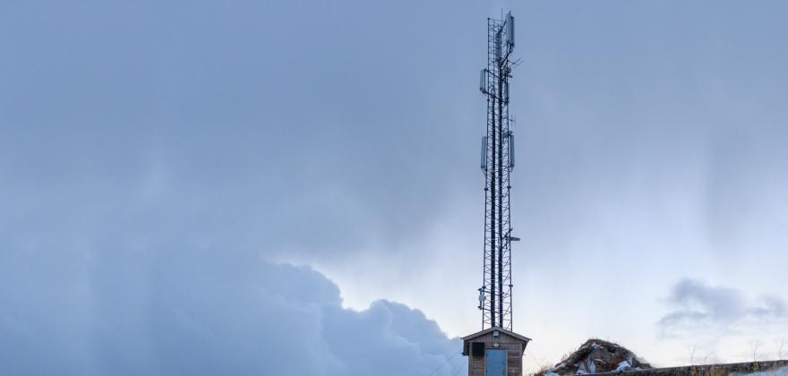 Feil på radiolinje til Gjesvær