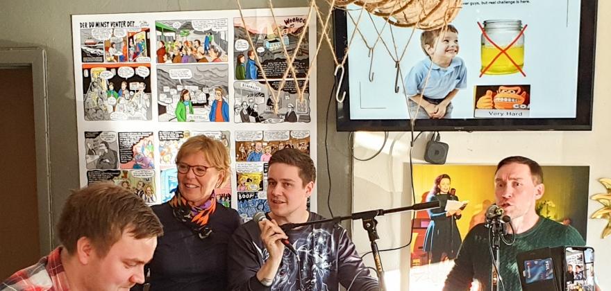 Podcast fra Sjøgata Pub