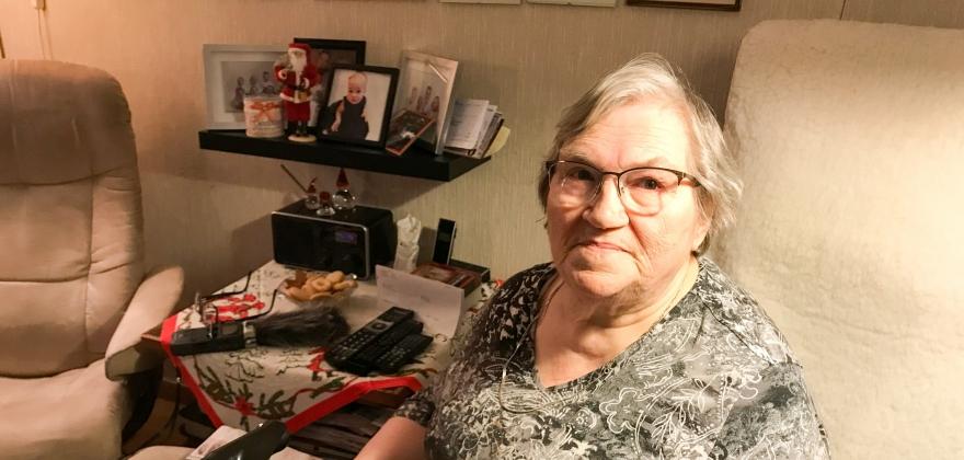 Annie Mobakks fortelling om tvangsevakueringen