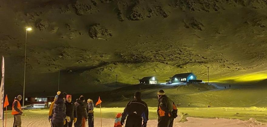 For dårlig vær til skirenn i Nordvågen