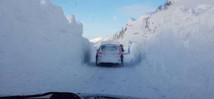 Veien til Sarnes åpnet