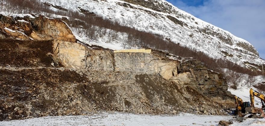 Møte i forbindelse med utbygging av Skarvbergtunnelen